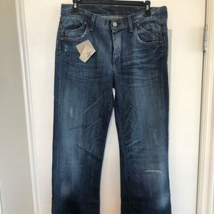 Citizens of humanity 30L boot cut distressed jean